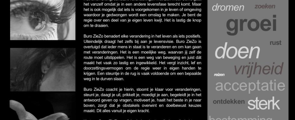 Buro Bravo heeft | meegedacht over de positionering | logo-ontwerp | design website | webteksten geschreven | www.buroziezo.nl