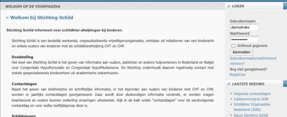 Buro Bravo zorgt dat de website van Stichting SCHILD up to date blijft door het plaatsen van nieuwe teksten en nieuwsberichten. www.stichtingschild.nl